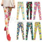 Sexy Vintage SELL Flower Floral Cotton Retro Women's Leggings New