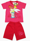 Tinkerbell Fairy Girl Top + Shorts #117-31 Rose Pink Size 4-8 age 2-6