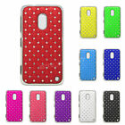 New Crystal Diamond Gem Star Bling Hard Back Case Cover Skin Fit Nokia Lumia 620