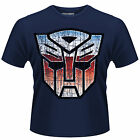 TRANSFORMERS Autobot Shield T-SHIRT NEU