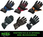 RICHA MAGMA LEATHER MOTORCYCLE VENTED SUMMER GLOVES BLACK ETC - SALE OFFER
