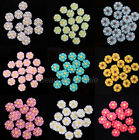 New Daisy Bead Plastic Candy Color Decorate Used For Making Ear Stud,Necklace