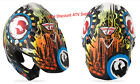 2014 Fly Racing Dragon Alliance HELMET Carbon Fiber Adult 2X Pearl-White-Multi