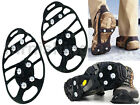 NEW SNOW CRAMPONS ANTI SLIP ICE GRIPPERS FOR BOOTS SHOES OVERSHOE MEDIUM LARGE