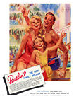 Butlins Seaside Holiday Advert Poster Print - Framed And Memo Board Available