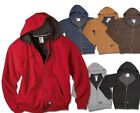 Dickies Mens S-3XL 4XL 5XL Thermal Lined FLEECE Hooded Sweatshirt Jacket tw382