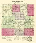BOURBON COUNTY KANSAS (KS) BY L.H. EVERTS & CO. 1887