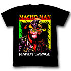 Macho Man Randy Savage Time of My Life Mens Black T-shirt