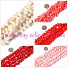 "5x9mm drop gemston coral loose beads strand 15""jewelery making beads"