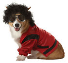 Pop King Michael Jackson Red Star Cute Dress Up Halloween Pet Dog Cat Costume