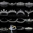 Wedding Bridal Bridesmaid Party Crystal Tiara Princess Headband Crown Headpieces