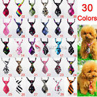 Pet Necktie Bow Tie Cute Adjustable Dog Cat Bow Knot Tuxedo Grooming Accessories