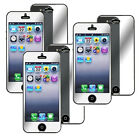 6/3/1x Mirror LCD Screen Guard Protector Cover Film Shield For Apple iPhone 5 5s