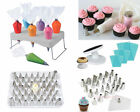 Icing Nozzles & 100Pcs Disposable Piping Bag Fondant Cake Decorating Pastry Tool