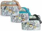 Ladies Anna Smith Magazine Print Messenger Notebook Spike Bag Women LYDC Handbag