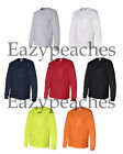 PEACHES PICK Mens TALL LT-2XLT 3XLT 4XLT Cotton Long Sleeve POCKET T-shirts Tee