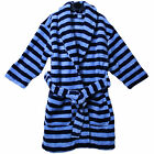 Next Kids Blue Striped Dressing Gown Soft & Thick Robe 1-5 yrs Boys Baby Babies