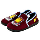 OFFICIAL WEST HAM UNITED FC KIDS BOYS BABY JUNIOR HEEL SLIPPERS - XMAS GIFT