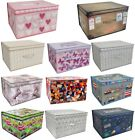 LARGE CLOTHES LAUNDRY BEDDING TOY STORAGE BOX BAG CHILDRENS KIDS CHEST TIDY
