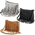 Celebrity Fringe Tassel Shoulder Bag Messenger cross body Womens Handbag