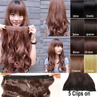 17-26 inch One Piece long curl/curly/wavy hair extension clip-on Supple hair CA