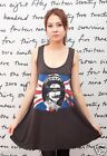 SEX PISTOLS GOD SAVE THE QUEEN WOMEN T-SHIRT DRESS Tank Top Tunic Vest Size M L