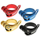 AEST ALLOY BIKE QUICK RELEASE SEAT POST CLAMP (VariousColour 31.8-34.9mm) YSCL14