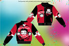 "Betty Boop Ladies Jacket Fan Club Betty Boop Black Red Twill Jacket ""BLOWOUT"" $89.99 USD"