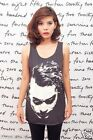 Joker Heath Ledger Batman WOMEN TANK TOP T-SHIRT Vest Tee Singlet Size S M L