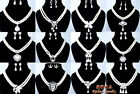 25Styles Imitate Pearl Crystal Necklaces Earrings Jewelry Sets Wedding Bridemaid