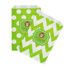 Jungle Safari PERSONALIZED Birthday Baby Shower Favor Goodie Bags - lot of 36