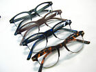 Light Browline Hornrim Reading Glasses Geek-Styl Hipster Black Red Blue Tortoise