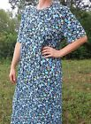 Ladies CUSTOM nightgown long full knit t-shirt cotton modest pick size & color