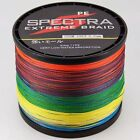 1500M Multi-Color Super Strong Dyneema Spectra  PE Braided Sea Fishing Line