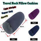 Lightweight Handy Travel Neck Pillow Cushion- GREY NAVY PLUM