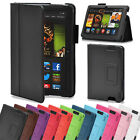 Slim Foldable Leather Flip Case Cover Stand for Amazon Kindle Fire HDX 8.9 inch