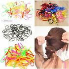 Colorful Rubber Hair Band Rope Ponytail Holder Plastic Elastic Ponytail Braids