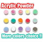 Cover Colour Acrylic Powder Nail Art UV Gel Tips Powder Builder 3D Nail New