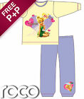 Girls Yellow & Purple Tinkerbell Snuggle Fit Pyjamas