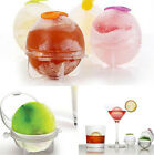 Be 4x Silicone Ice Cube Big Ball Mould Tray Bar Party Whisky Drink Cocktail Mold