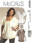 McCall's 5337 Sewing Pattern to MAKE Loose Fitting Tops sz 8-14 Out of Print