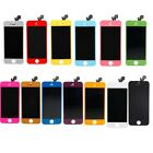 Colors Front Housing LCD Touch Digitizer Screen Assembly for iPhone 5 With Tools