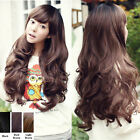 New Sexy Womens Wavy Curly Long Hair Full Wig Wigs Cosplay Party Costume Wigs