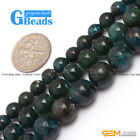 "Fashion 6mm 8mm 10mm round apatite gemstone loose beads 15"" DIY jewelry making"