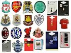 OFFICIAL FOOTBALL CLUB - TEAM CREST METAL PIN BADGE STUD SOUVENIR GIFT XMAS