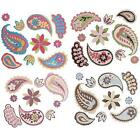 3D Dimensional Paisley Design Stickers Embellishments for Decoration & Crafting