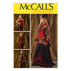 McCall's 6911 Sewing Pattern to MAKE  Victorian Steampunk Jacket, Skirt & Corset