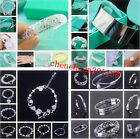 Wholesale Specials Fashion Jewelry Solid 925Silver Men/Women Bracelets+Gift box