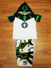 Ben 10 Upgrade Polyester Fancy Suit Outfit Set T-Shirt+Shorts Size S-XL age 3-10