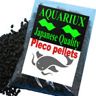 Aquariux premium Pleco pellets fish feed pellets for all pleco & catfish species